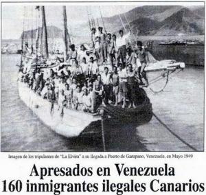 Emigración canaria a América