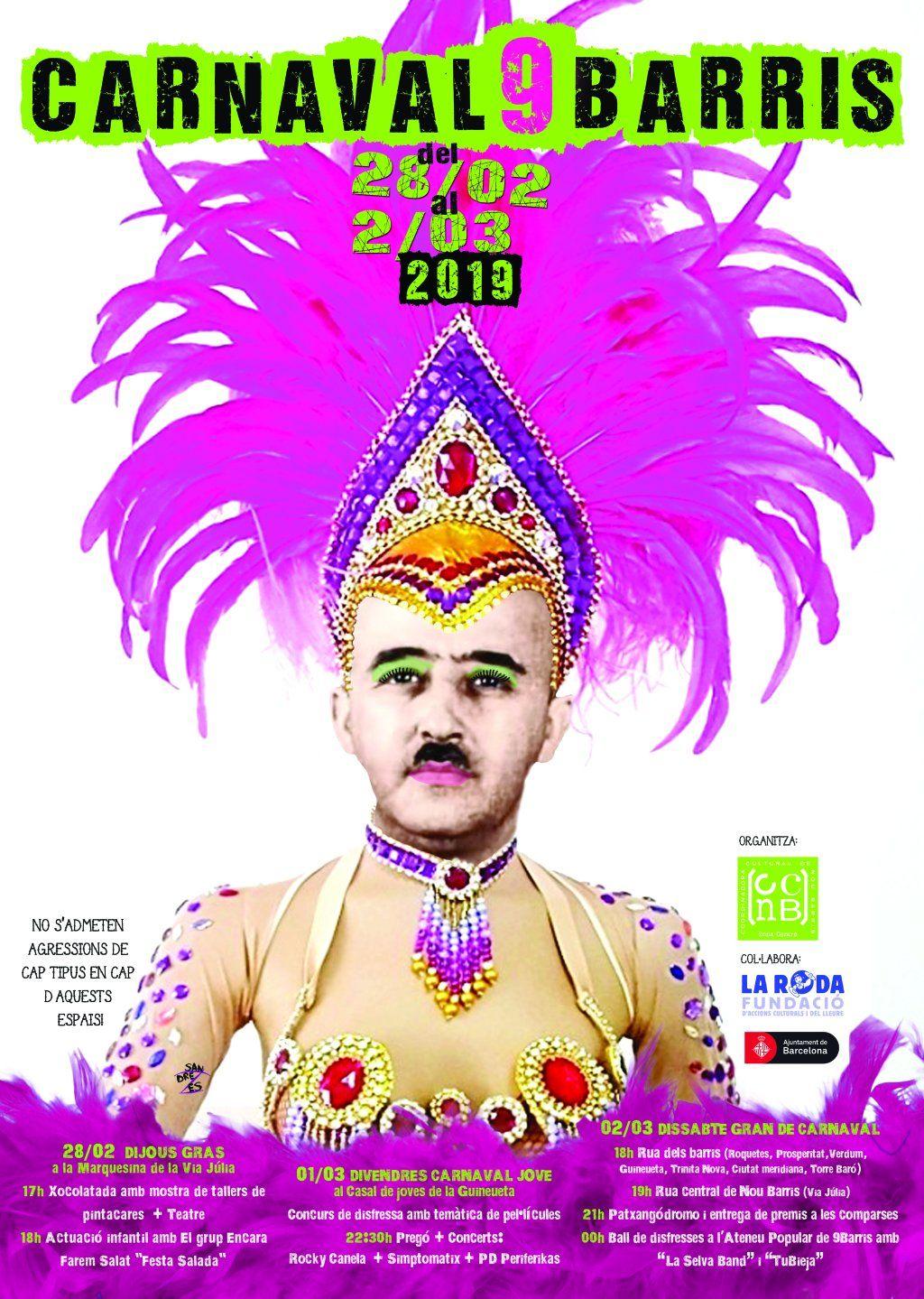 carnaval cartel franco barcelona