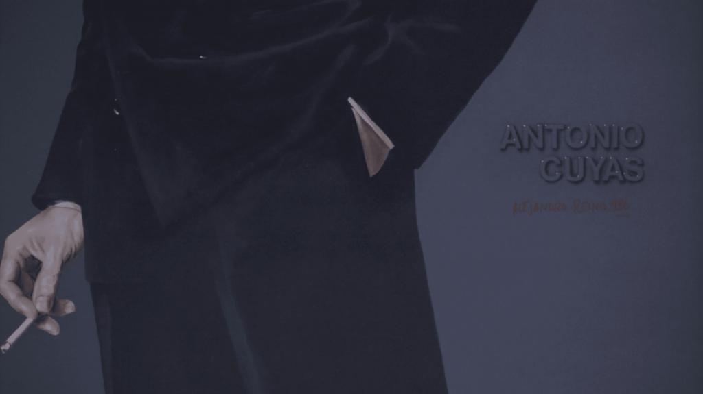 el retrato de antonio cayetana cuyás