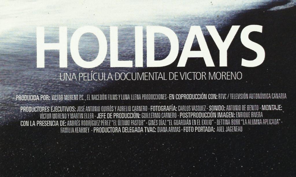 holidays víctor moreno