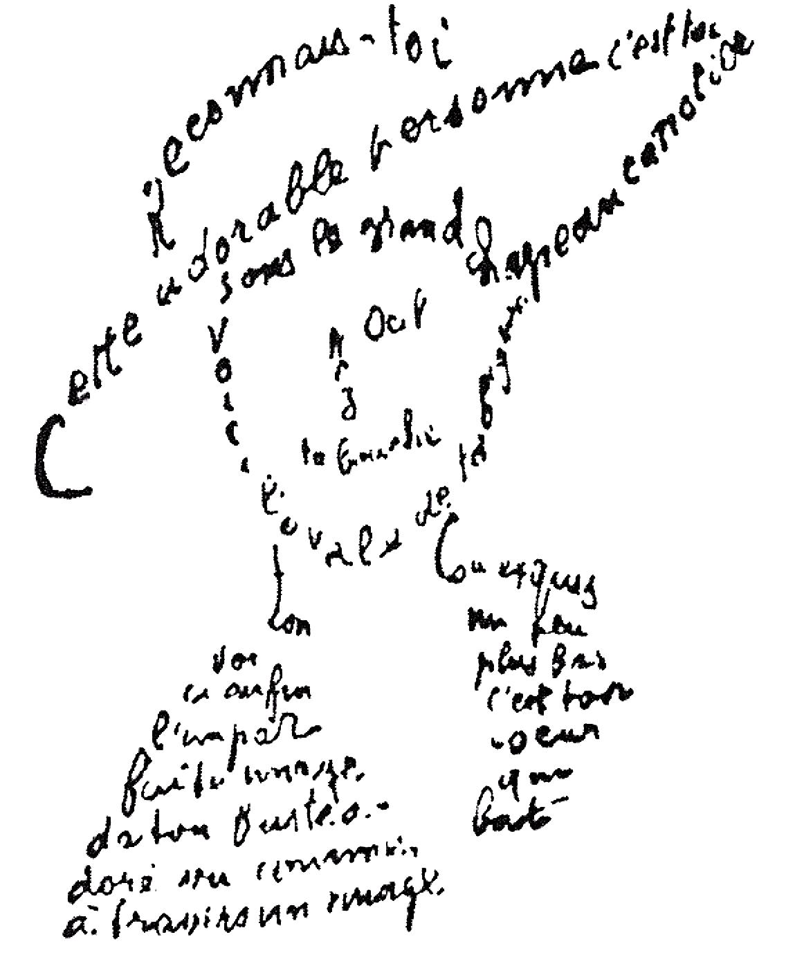 Guillaume Apollinaire 1915 Reconnais-toi