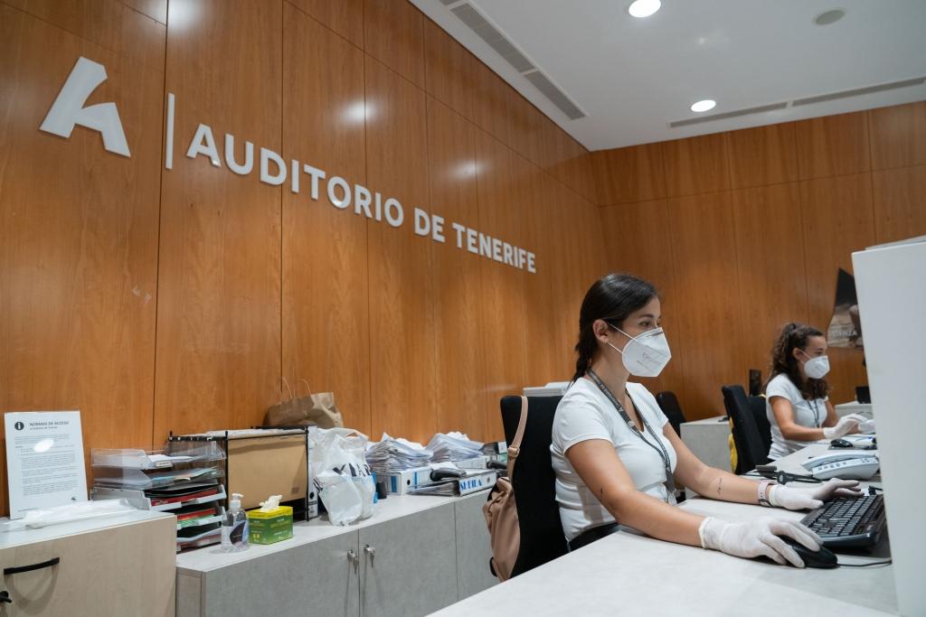 Auditorio de Tenerife reabre mañana