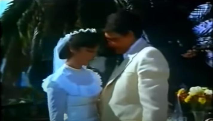 ventura en la boda de amparo guarapo