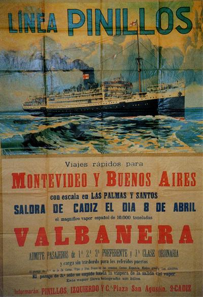 cien años del naufragio del valbanera