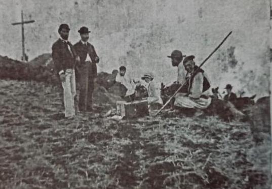 Olivia Stone en 1884