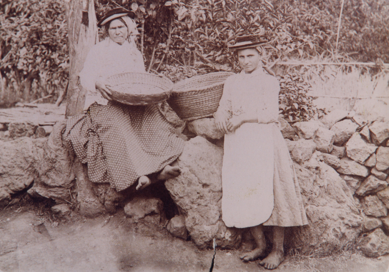 lavandera canaria siglo XIX