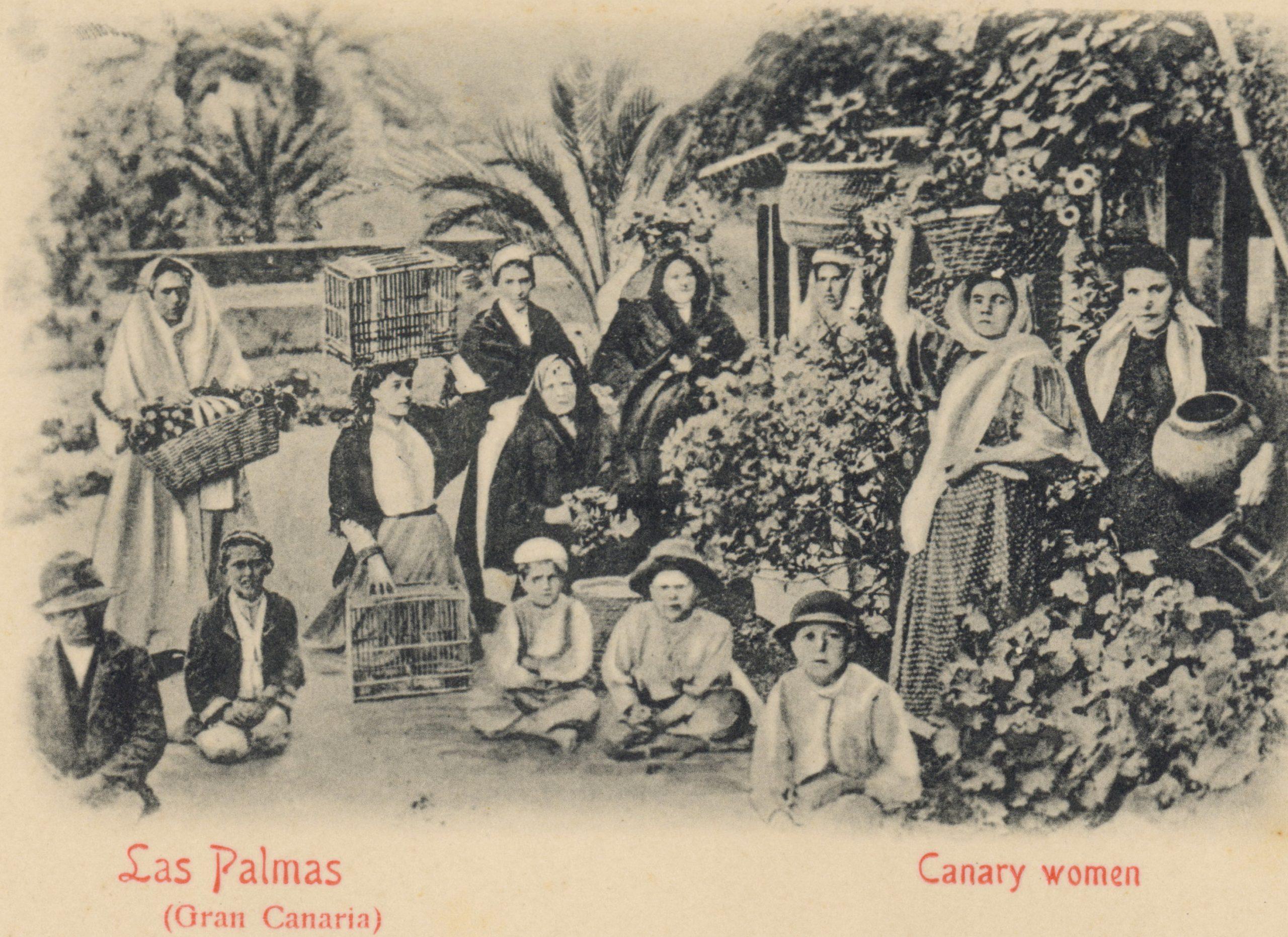 mujeres en canarias siglo XIX