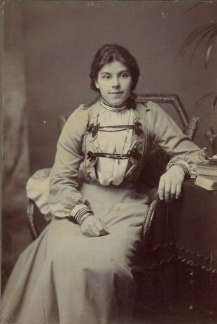 retrato mujer canarias olivia