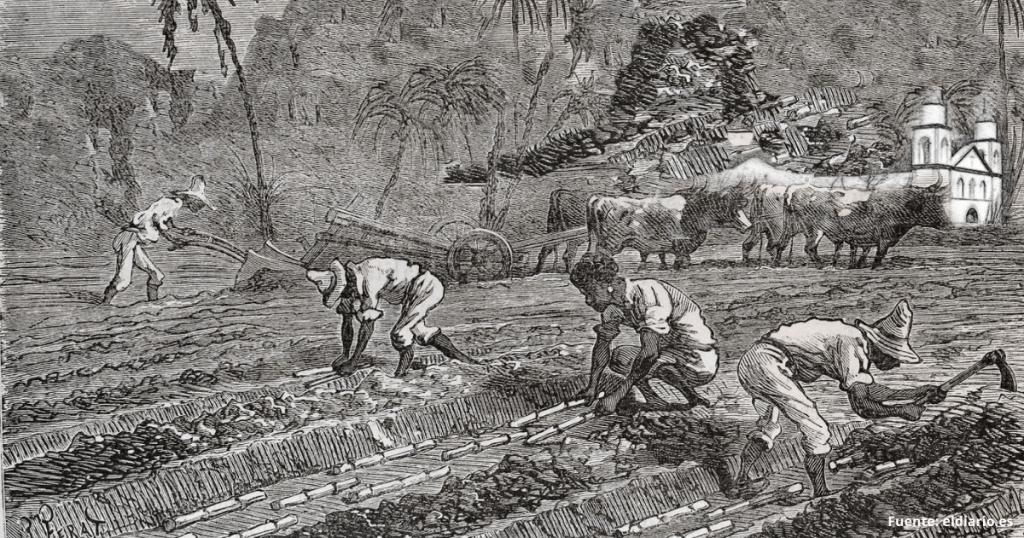 la esclavitud en canarias