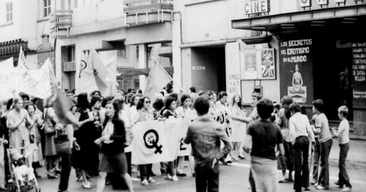 Movimiento feminista canario