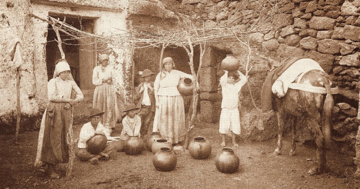 artesanía en la economía canaria en tiempos de olivia stone