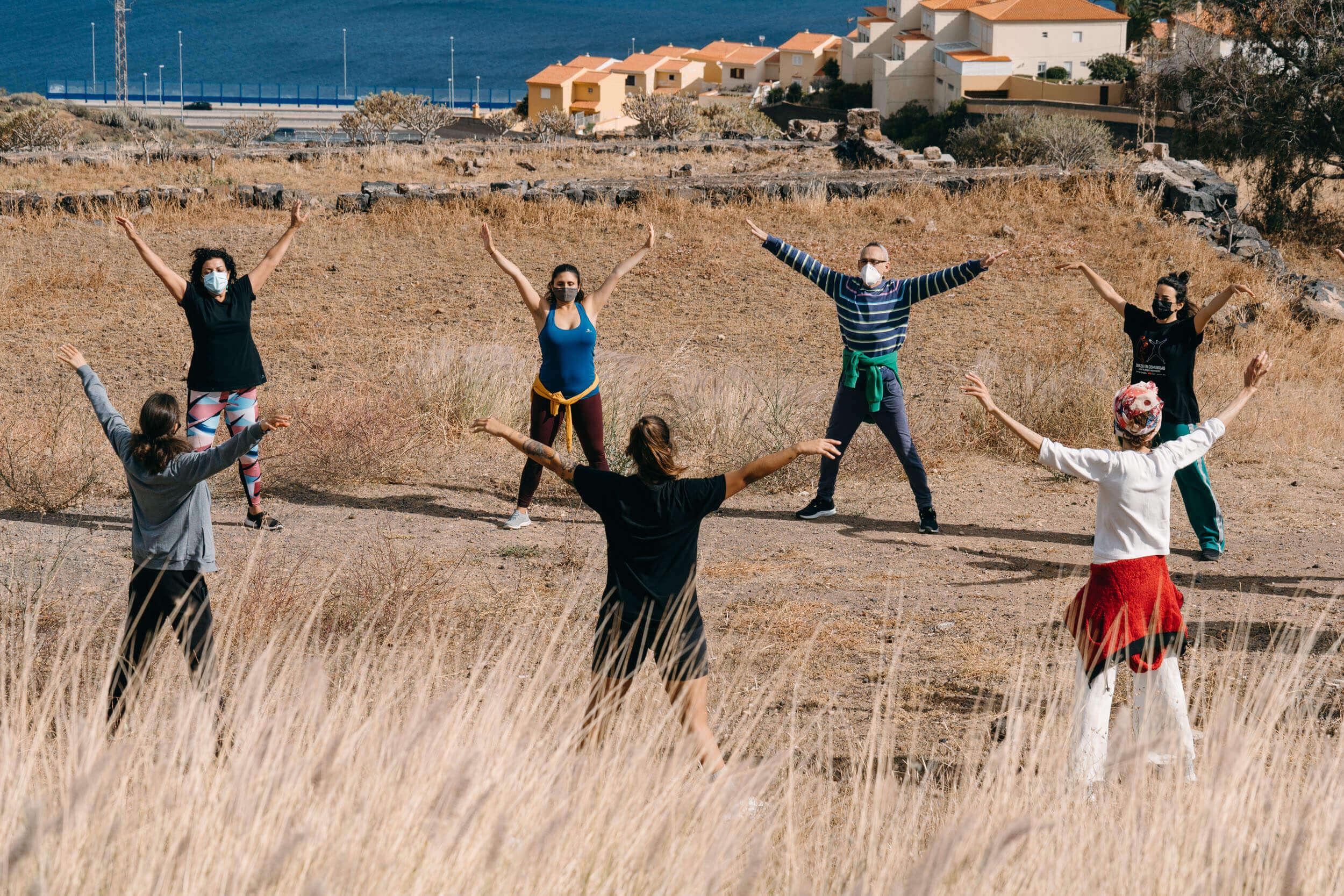 Danza en Comunidad Cierra Programa Natura El Rosario