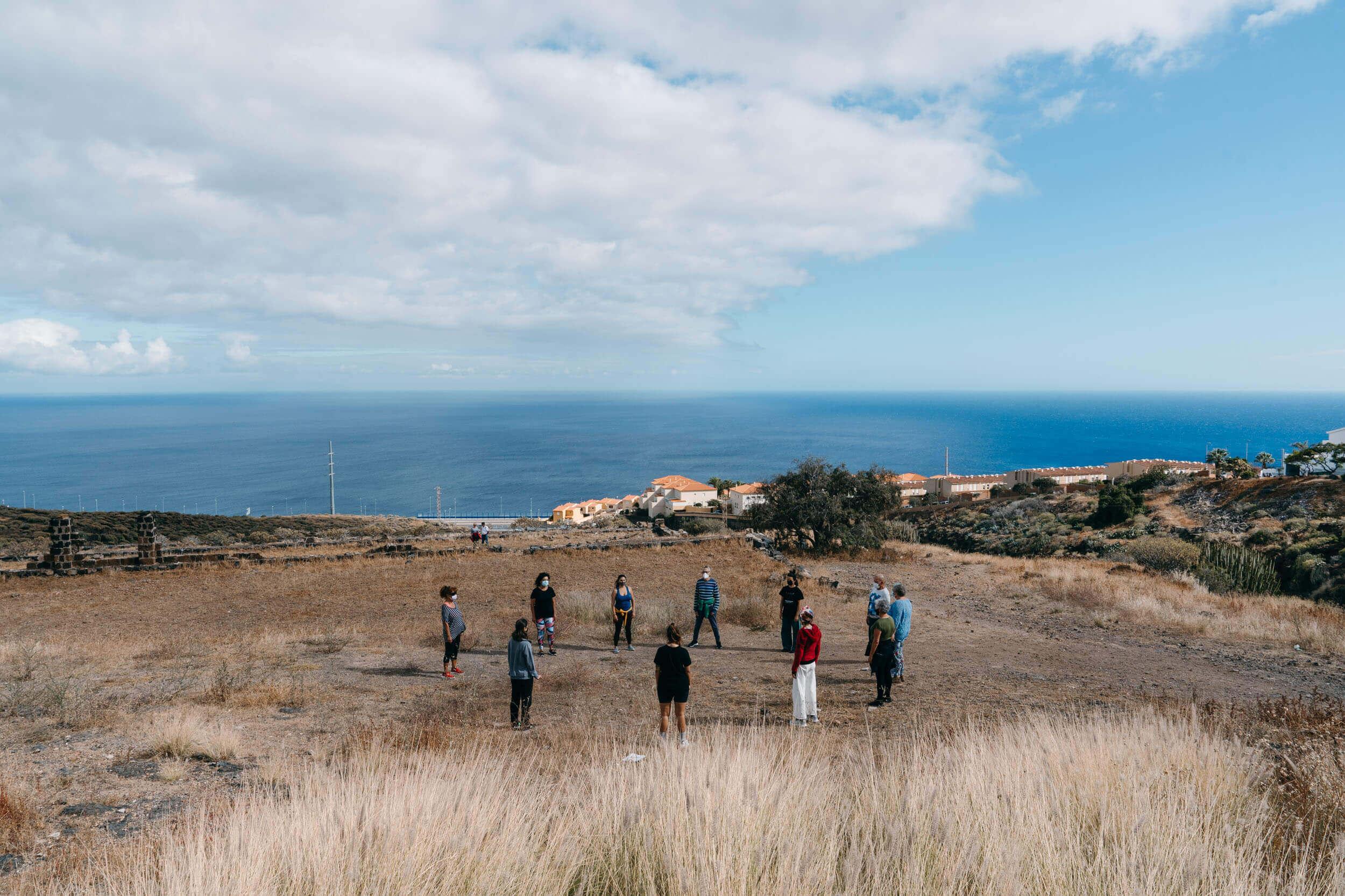 Danza en Comunidad Programa Cierra Programa Natura Publico