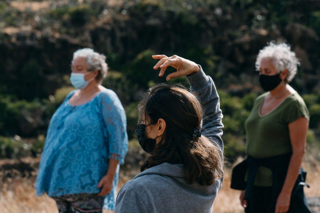 Danza en Comunidad cierra su programa Natura con un encuentro público en El Rosario
