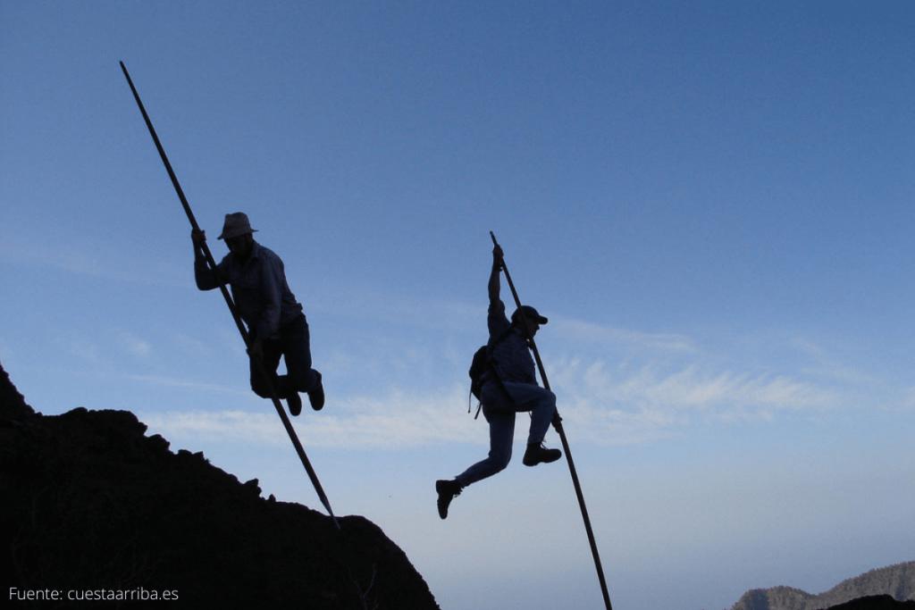 El salto del pastor canario