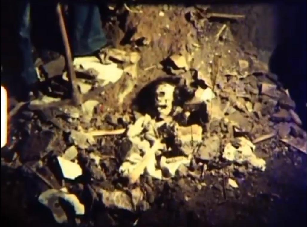 Esqueleto - Los Barrancos afortunados