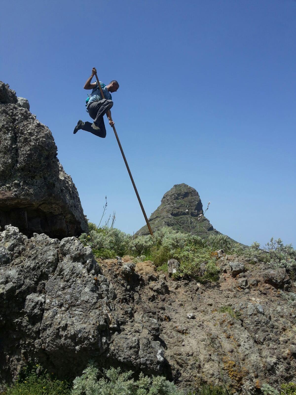 salto del pastor en canarias